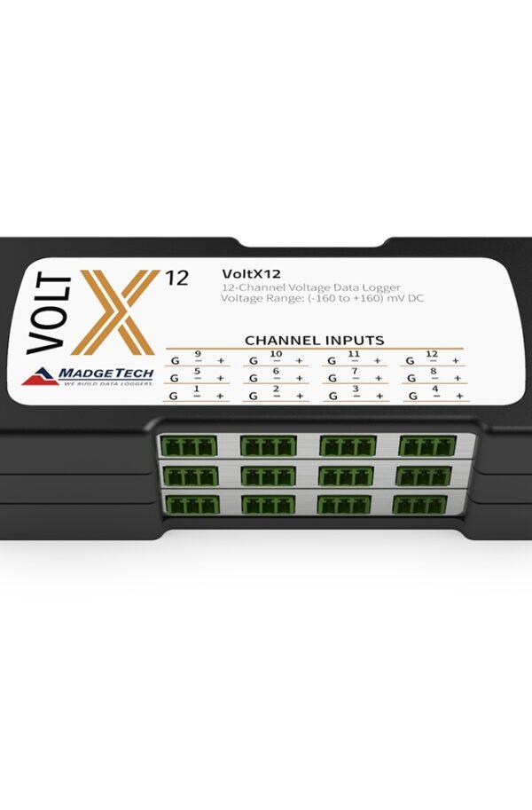 VoltX - Datenlogger für Spannung, bis zu 16 Kanäle