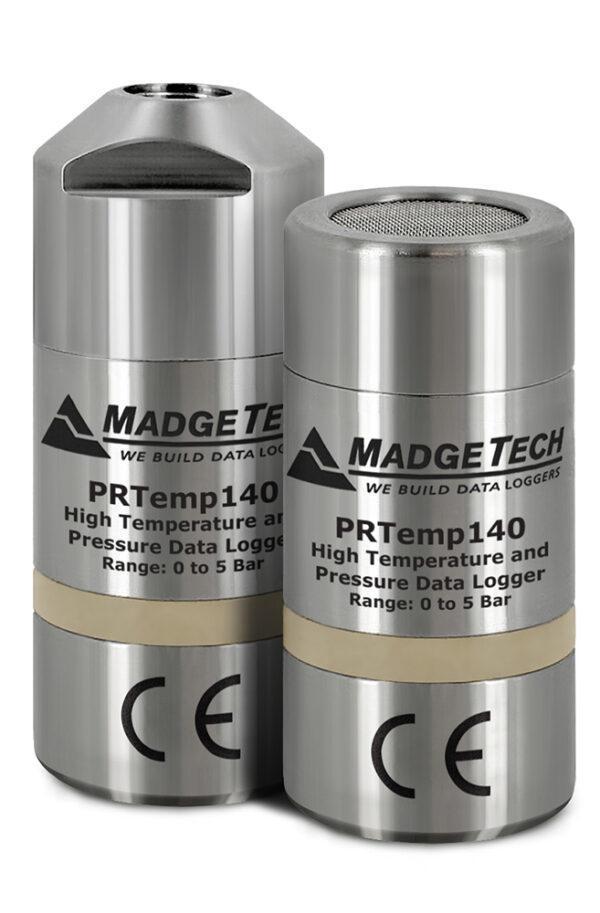 PRTemp140-Datenlogger für Druck und hohe Temperaturen