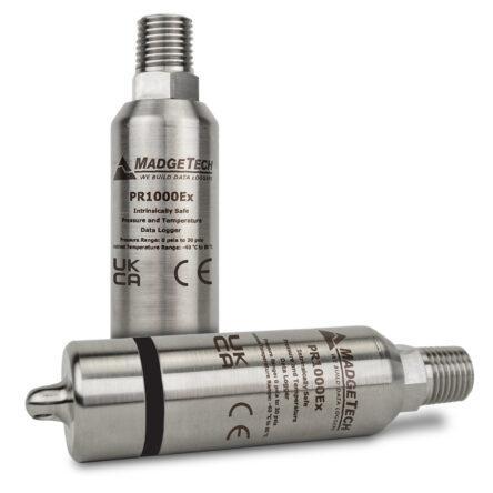PR1000EX – Datenlogger für Druck und Temperatur, ATEX zertifiziert